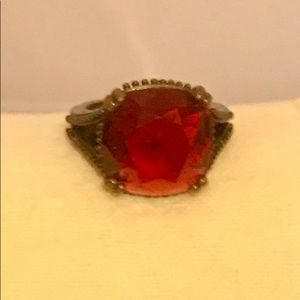 Jewelry - Red vintage ring